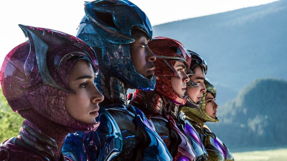 'Power Rangers'. (Credit: Lionsgate)