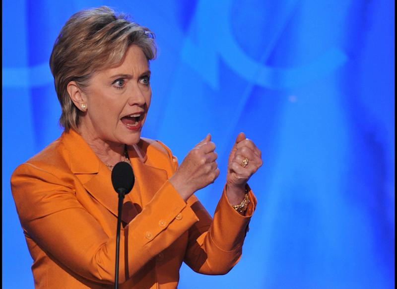 Hillary Clinton promotes a sweeping health care plan in her bid for the Democratic presidential nomination. She loses to Barack Obama, who has a less comprehensive plan.