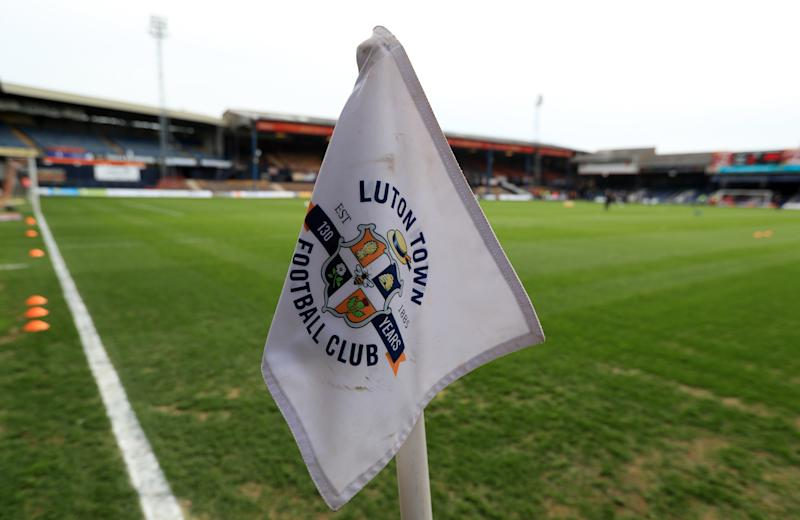Luton fans were subjected to abuse at Kenilworth Road (Photo by Mike Egerton/PA Images via Getty Images)