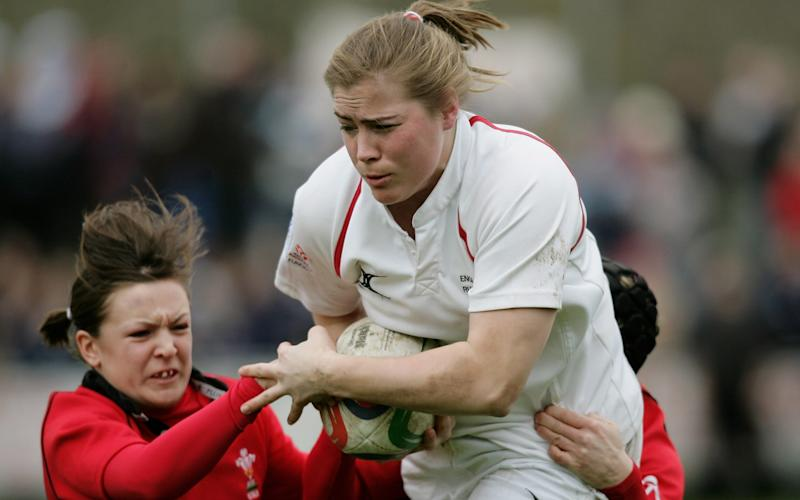 Spencer in action against Wales in 2007 - Getty Images