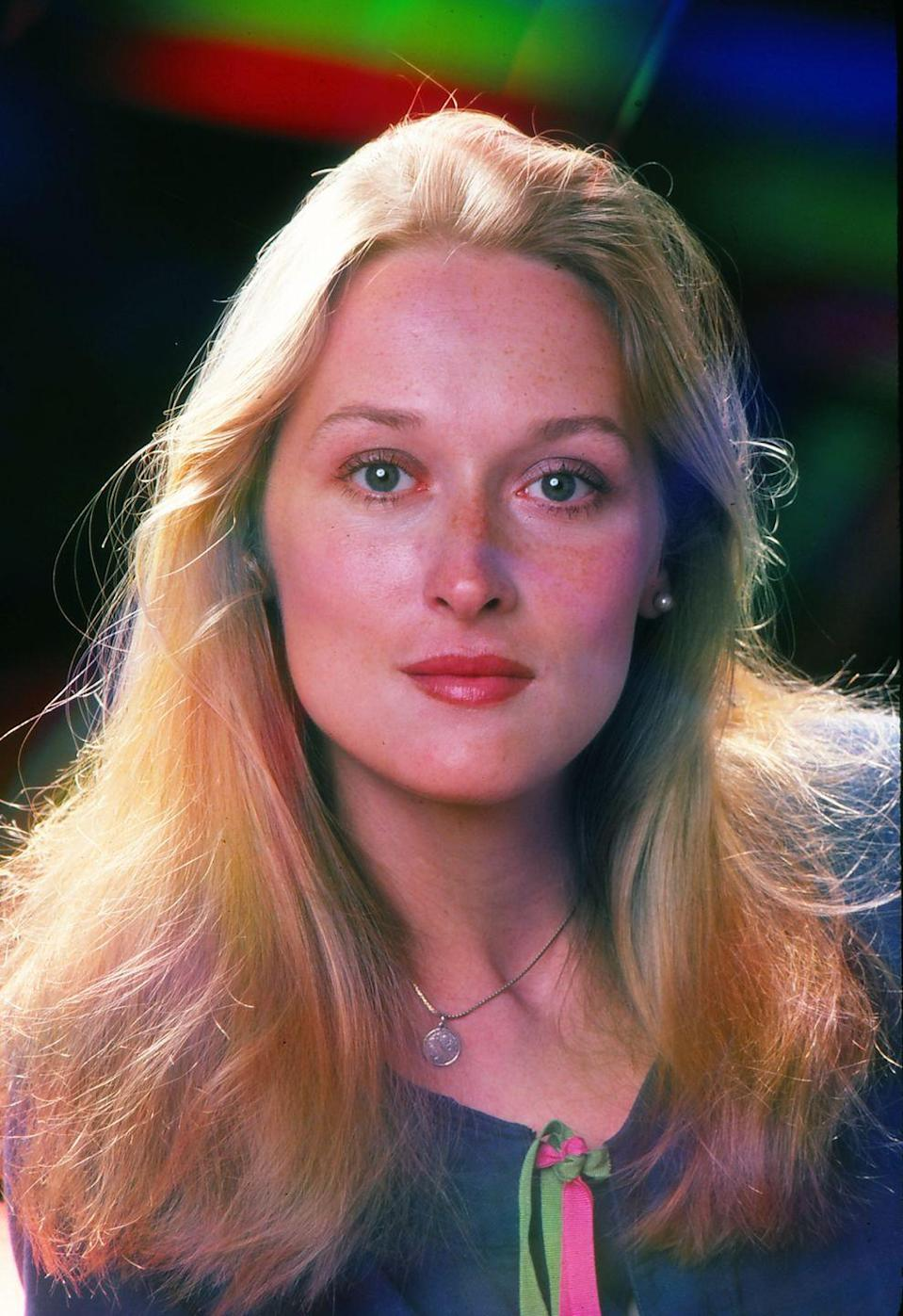 <p>Meryl now has an impressive 21 Oscar nominations, but back in 1976 she was just getting started. It was her 1979 role in <em>Kramer vs Kramer</em> that really put her on everyone's radar. Meryl continued to wow us as she swapped from TV to the silver screen effortlessly. Four decades later, people can rank their top five Meryl films at the drop of a hat. </p>