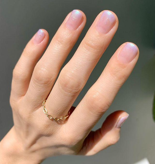 """<p>Ombre nails don't always have to be in your face, as this paired back design proves. </p><p><a href=""""https://www.instagram.com/p/BvCIP8Sgjac/"""" rel=""""nofollow noopener"""" target=""""_blank"""" data-ylk=""""slk:See the original post on Instagram"""" class=""""link rapid-noclick-resp"""">See the original post on Instagram</a></p>"""