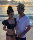 """<p>The daughter of singer Billy Joel and model Christie Brinkley kicked off her new year with a stellar engagement to fiancé Ryan Gleason — and a stunning engagement ring! On Instagram, Joel wrote, """"He said to me: 'Before I met you, my world was in black and white. You colored it in between the lines.' It was the most beautiful thing anybody's ever said to me. How could I possibly say no to that?!?!"""" Mom and dad are pretty happy about the news, too. (Photo:<a rel=""""nofollow noopener"""" href=""""https://www.instagram.com/p/BdbRkwcH33s/?hl=en&taken-by=alexarayjoel"""" target=""""_blank"""" data-ylk=""""slk:Alexa Rae Joel via Instagram"""" class=""""link rapid-noclick-resp""""> Alexa Rae Joel via Instagram</a>) </p>"""