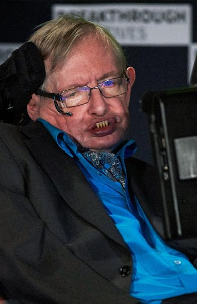 British scientist Stephen Hawking has previously warned that AI is a threat to mankind (AFP Photo/Niklas Halle'n)