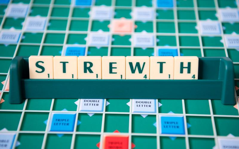 Aussie Scrabble - Paul Grover for the Telegraph