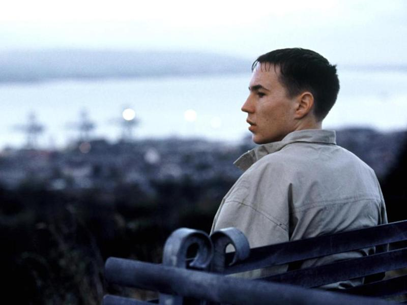 Compston in his first major role as troubled teenager Liam in film 'Sweet Sixteen' which won the best screenplay award at the 2002 Cannes Film Festival
