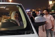 The kingdom earlier this month began issuing its first driving licences to women in decades (AFP Photo/FAYEZ NURELDINE)