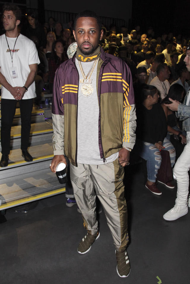 <p>Rapper Fabolous attends the Kith Sport fashion show on September 7, 2017 in New York City.<br>(Photo by Amber De Vos/Patrick McMullan via Getty Images) </p>