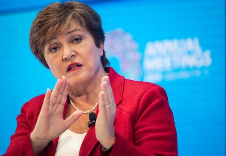 IMF Managing Director Kristalina Georgieva delivers her curtain raiser speech previewing the key issues to be addressed in the Annual Meetings in Washington, DC