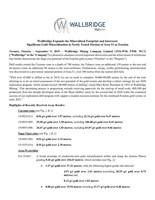 Wallbridge Expands the Mineralized Footprint and Intersects Significant Gold Mineralization in Newly Tested Portion of Area 51 at Fenelon (CNW Group/Wallbridge Mining Company Limited)