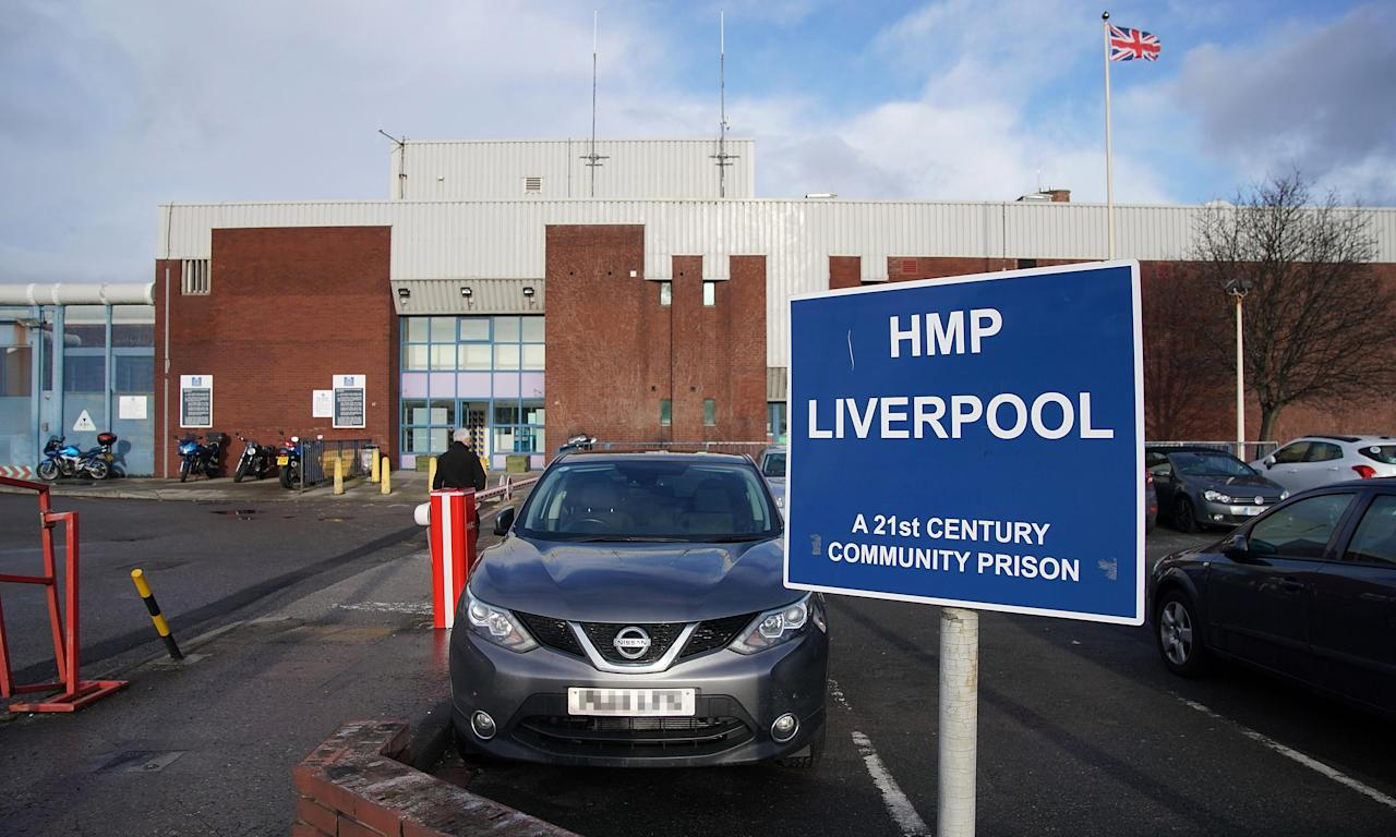 Liverpool prison, where living conditions have been described by inspectors as the worst they can recall.