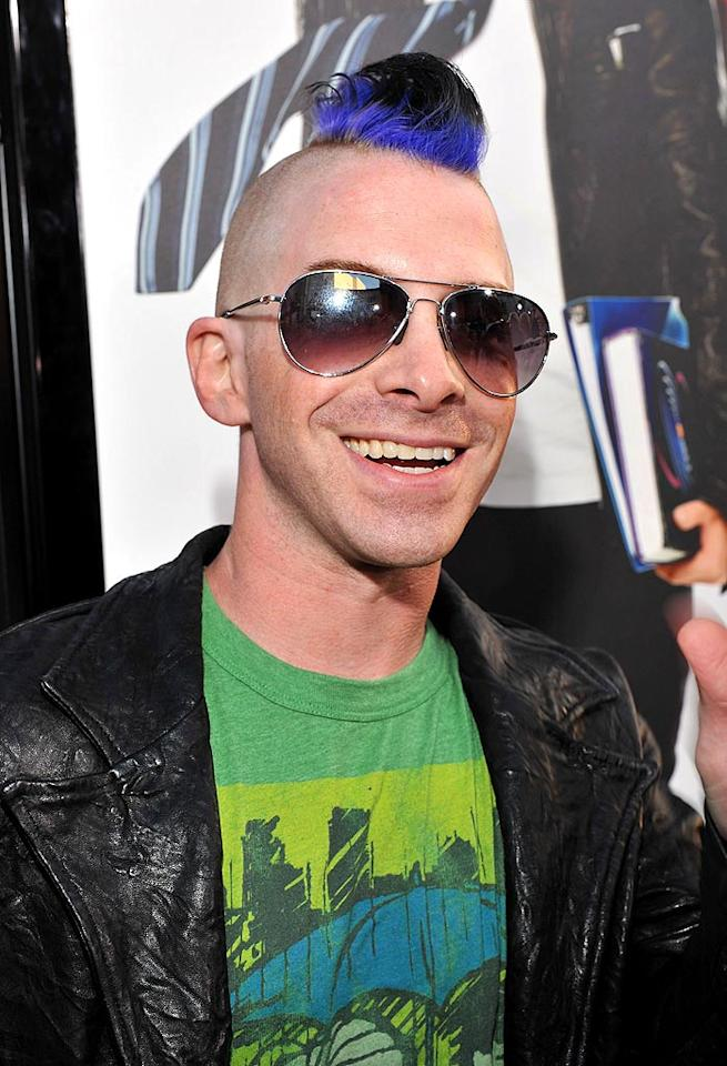 "Seth Green better be rockin' that multi-colored mohawk for a film. Otherwise, this looks like yet another 35-year-old hipster desperately attempting to relive his youth. Lester Cohen/<a href=""http://www.wireimage.com"" target=""new"">WireImage.com</a> - April 14, 2009"