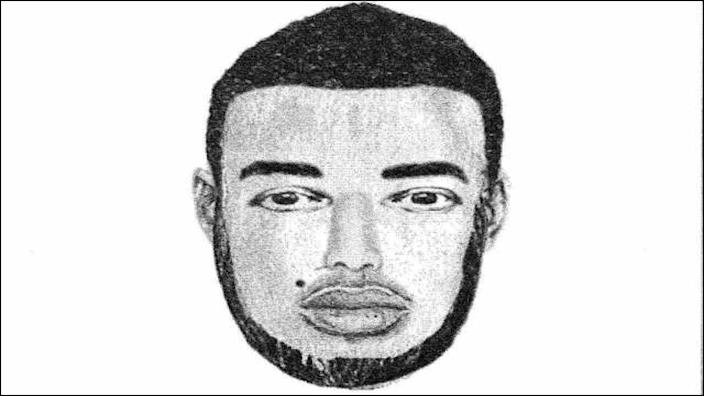 Milwaukee police released a composite sketch of one of the suspects. (MIlwaukee Police Dept.)