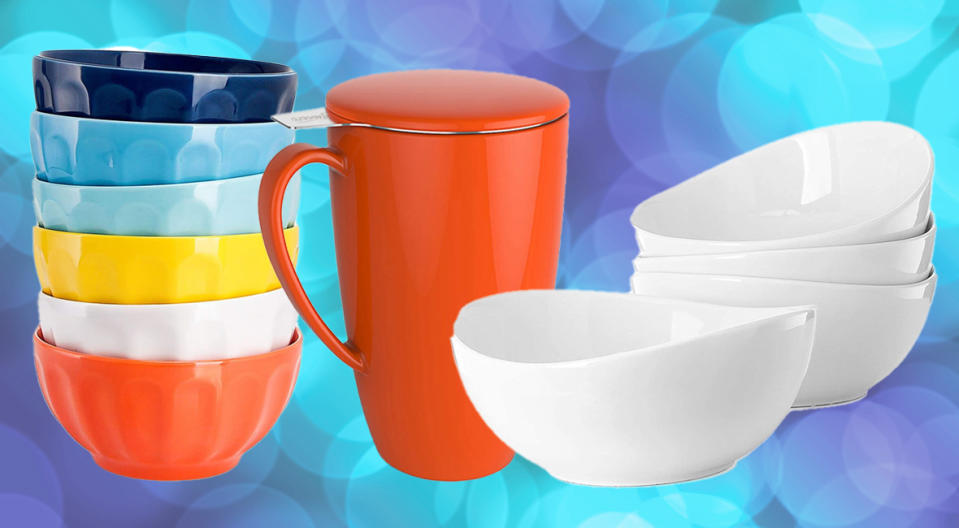 Sweese plates, bowls, and tea infusers are Amazon fan favorites. (Photo: Amazon)