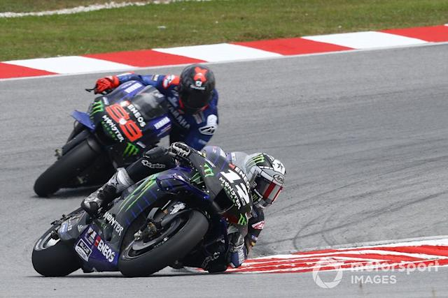 "Maverick Vinales, Yamaha Factory Racing, Jorge Lorenzo, Yamaha Factory Racing <span class=""copyright"">Gold and Goose / Motorsport Images</span>"