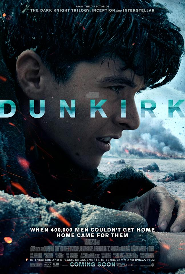 <p>Dunkirk – One sheet (Warner Bros.) </p>