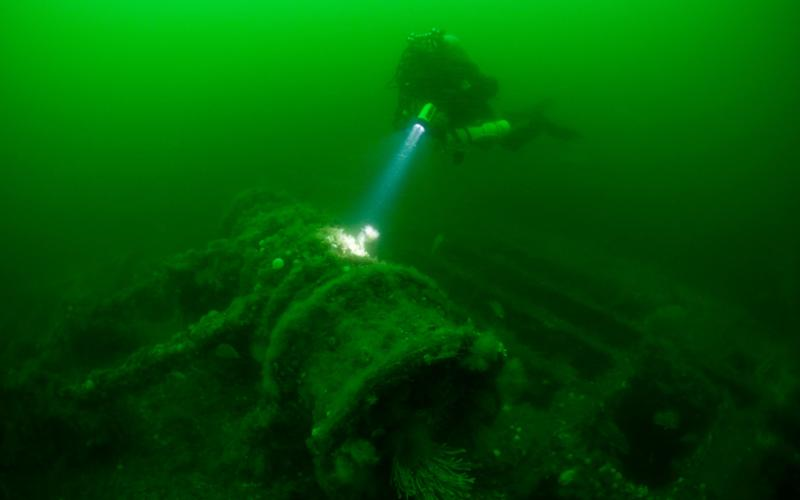Of the 7,500 merchant ships sunk, the teams have identified more than 700 which they believe may have been carrying vast quantities of gold - Credit: WaterFrame / Alamy Stock Photo