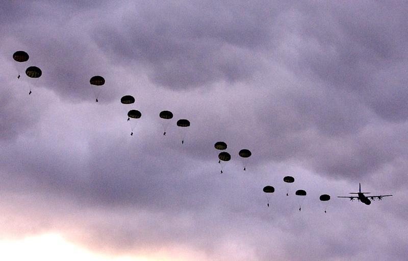 Talisman Sabre is a two-yearly US-Australian drill that involves around 27,000 servicemen (AFP Photo/Bernard Pearson)