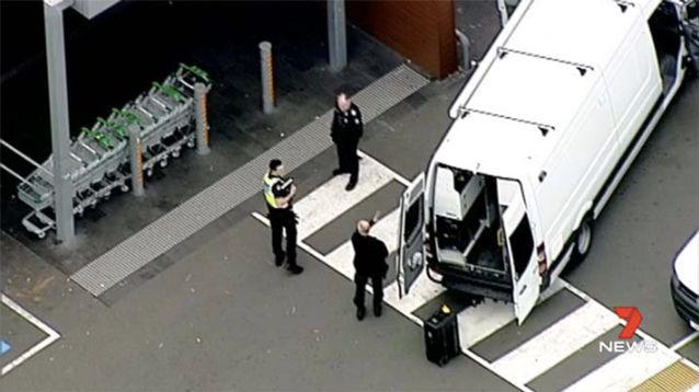 The supermarket has since been given the all clear. Source: 7 News
