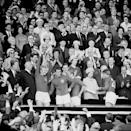 The Queen was at Wembley for the 1966 England World Cup win (PA)