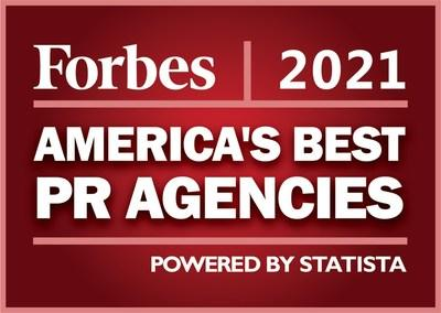 Falls Named to Forbes List of America's Best PR Agencies 2021