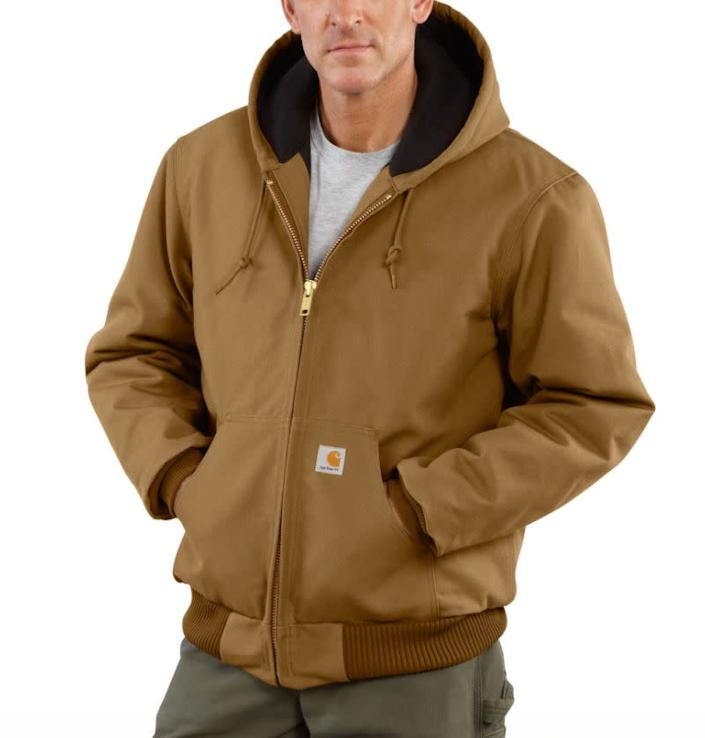 """This jacket comes in sizes M to 4XL.&nbsp;<a href=""""https://fave.co/2R4zSWD"""" rel=""""nofollow noopener"""" target=""""_blank"""" data-ylk=""""slk:Find it at Dick's Sporting Goods"""" class=""""link rapid-noclick-resp""""><strong> Find it at Dick's Sporting Goods</strong></a>."""