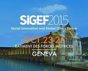 Chad Harper of Hip Hop Saves Lives Brings Positivity to the Social Innovation and Global Ethics Forum (SIGEF 2015)
