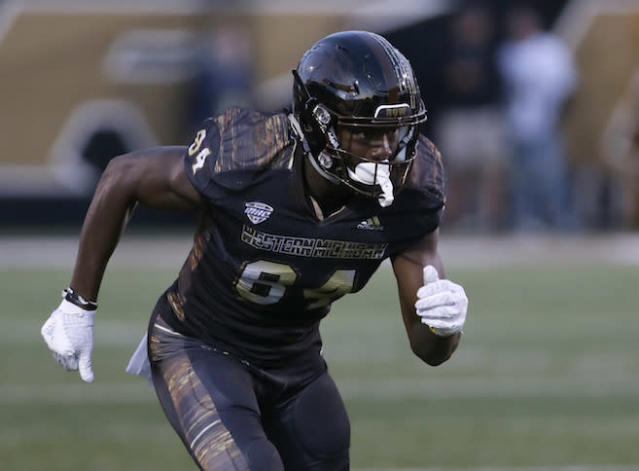 """<a class=""""link rapid-noclick-resp"""" href=""""/ncaaf/players/269071/"""" data-ylk=""""slk:Corey Davis"""">Corey Davis</a> is a name fantasy owners must keep tabs on for 2017. (AP)"""