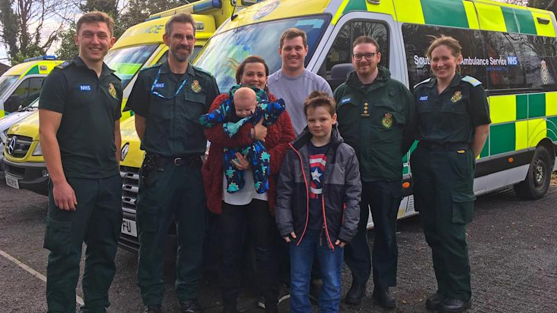 'She's about to pop' – 999 call released after baby is born on motorway