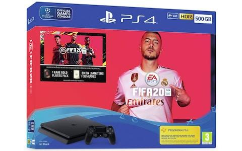 Sony PS4 500GB Console & FIFA 20 Bundle cyber monday