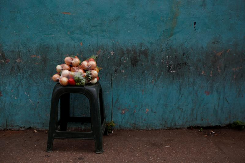 Vegetables for sale in El Tigre, Venezuela, on June 2. (Photo: Ivan Alvarado/Reuters)
