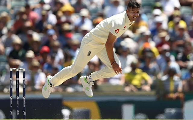 Anderson's body was stiff after bowling 59 overs in Melbourne - Cricket Australia