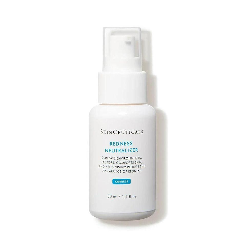 """<p><strong>SkinCeuticals</strong></p><p>dermstore.com</p><p><strong>$67.00</strong></p><p><a href=""""https://go.redirectingat.com?id=74968X1596630&url=https%3A%2F%2Fwww.dermstore.com%2Fskinceuticals-redness-neutralizer%2F11289632.html&sref=https%3A%2F%2Fwww.bestproducts.com%2Fbeauty%2Fg37090433%2Fsqualane-skincare-products%2F"""" rel=""""nofollow noopener"""" target=""""_blank"""" data-ylk=""""slk:Shop Now"""" class=""""link rapid-noclick-resp"""">Shop Now</a></p><p>The name truly says it all: This cream's main job is to address and soothe any redness flare-ups you have on your skin. This lightweight, creamy formula uses moisturizing squalane alongside peptides and botanically-derived ingredients to take care of the effects of environmental triggers (think pollution and allergies) that can lead to skin redness, flushing, burning sensations, and discomfort. </p><p>It may be a bit pricier than the rest of the skincare options on this list, but your complexion will thank you for its cooling, soothing feel. Sensitive skin types can enjoy this cream, too, since its non-comedogenic formula is free of parabens, fragrances, silicones, dyes, and alcohol.</p>"""