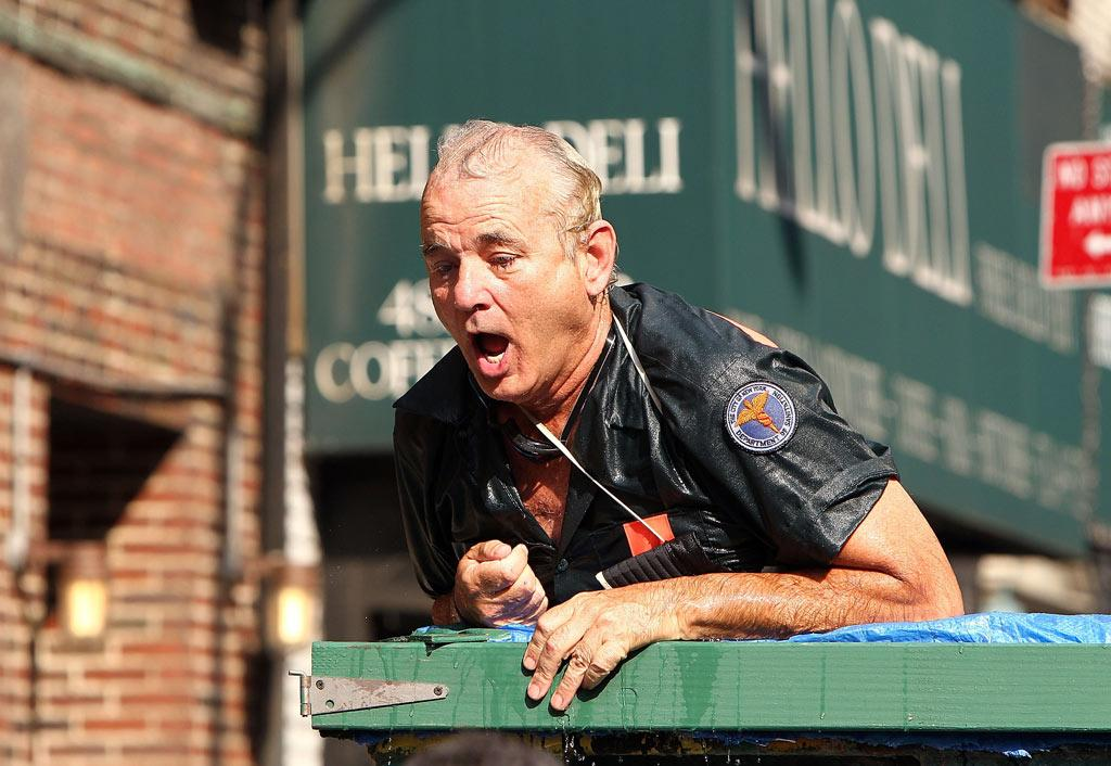 "You might think it's just a gimmick, but dumpster pools actually exist! After the guerrilla pools that popped up in Brooklyn last summer, Mayor Bloomberg has plans to launch <a href=""http://inhabitat.com/2010/07/20/famed-dumpster-pools-are-back-and-in-manhattan-this-summer/"" target=""new"">three Dumpster Pools</a> on Park Avenue this August! Jeffrey Ufberg/<a href=""http://www.wireimage.com"" target=""new"">WireImage.com</a> - July 21, 2010"
