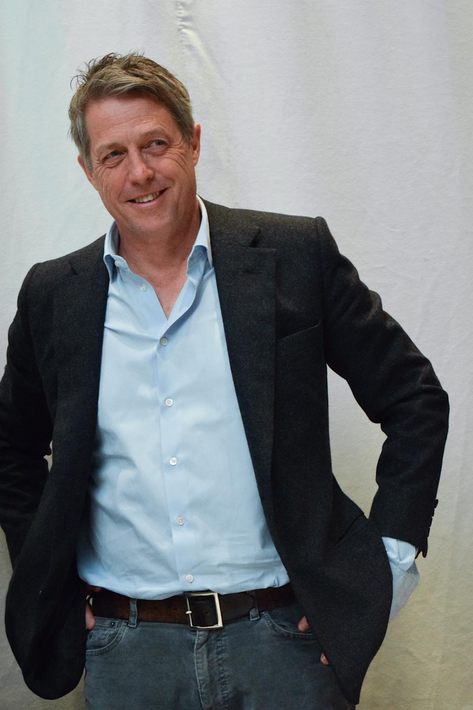 Hugh Grant at the Hollywood Foreign Press Association press conference for