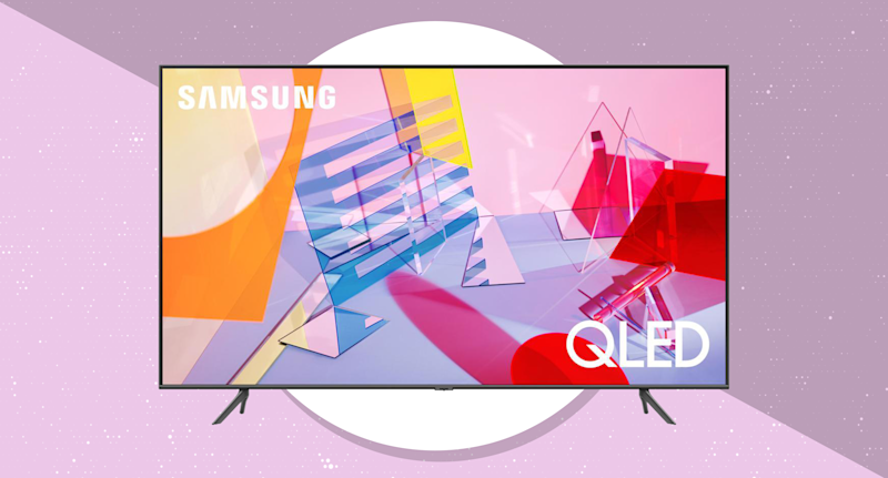 Get the Samsung 55-inch QLED 4K UHD Smart TV (Q60T) for just $650. (Photo: Samsung)