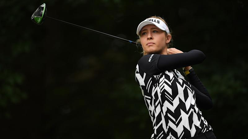 N. Korda takes commanding 6-shot lead into weekend at Ladies French Open