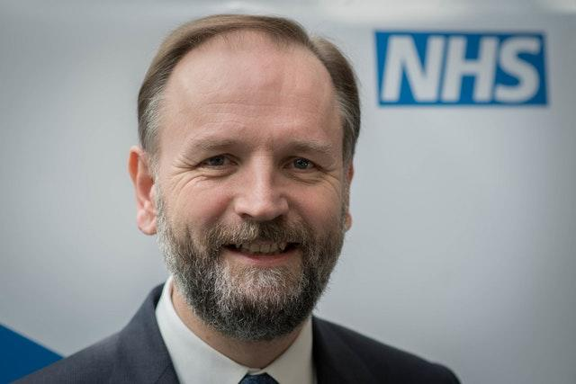 NHS England's chief executive Sir Simon Stevens