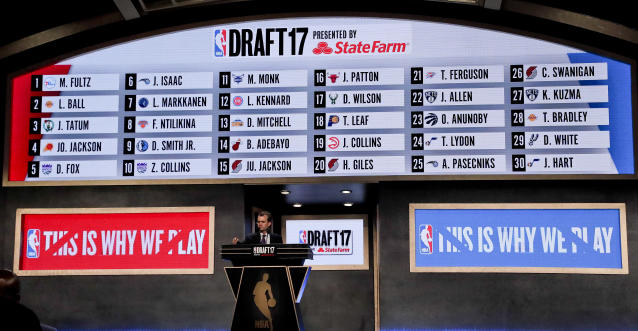 The 2017 NBA draft will be remembered as one of the last before lottery reform. (AP)
