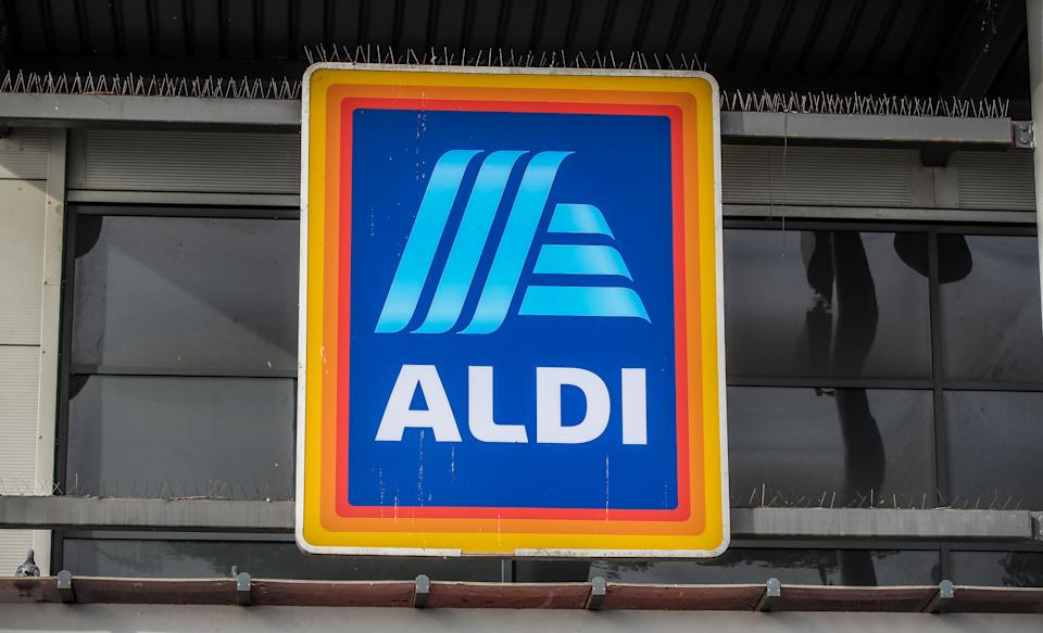 An Aldi store in Marsh Lane Bootle, Liverpool.