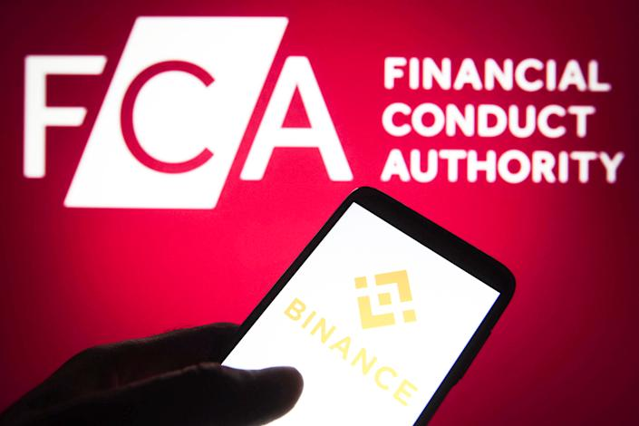 The FCA has clamped down on Binance. Photo: Getty Images