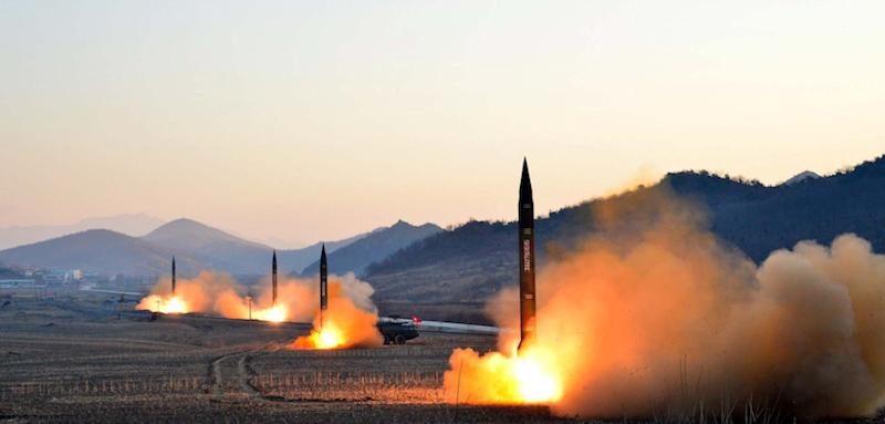 North Korea Is Practicing for Nuclear War