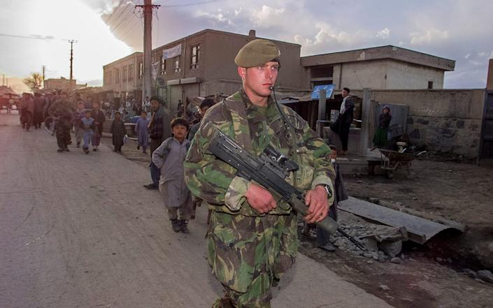 British forces have been in Afghanistan for nearly two decades - Heathcliff O'Malley