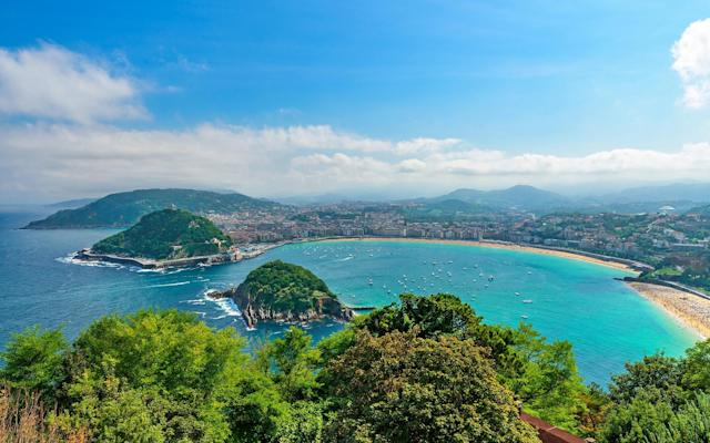 The mountains of the Basque Country frame San Sebastián, the coastal resort town where a love for food borders on obsession