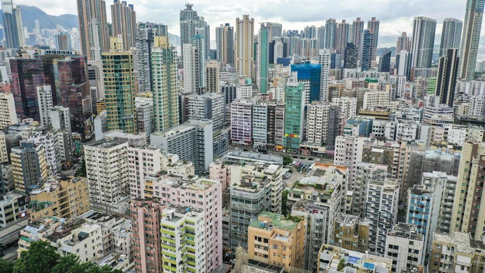 Residential and commercial buildings in Prince Edward and Mong Kok. Photo: Martin Chan