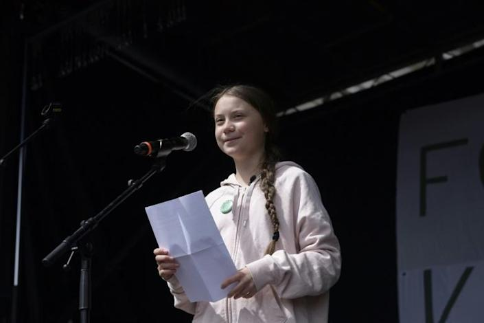 Swedish climate activist Greta Thunberg: 'There's absolutely no way around stopping our emissions of greenhouse gases and leaving the fossil fuels in the ground' (AFP Photo/Claus Bech)