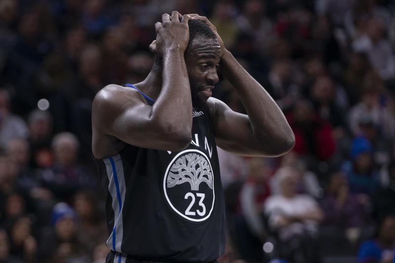 Draymond Green forgot to pass the ball in on Thursday night in Boston, committing a hilarious turnover in the process.