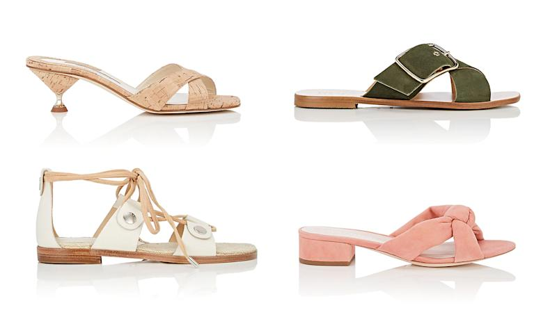 f4978a913 Barneys Warehouse flash sale on spring sandals