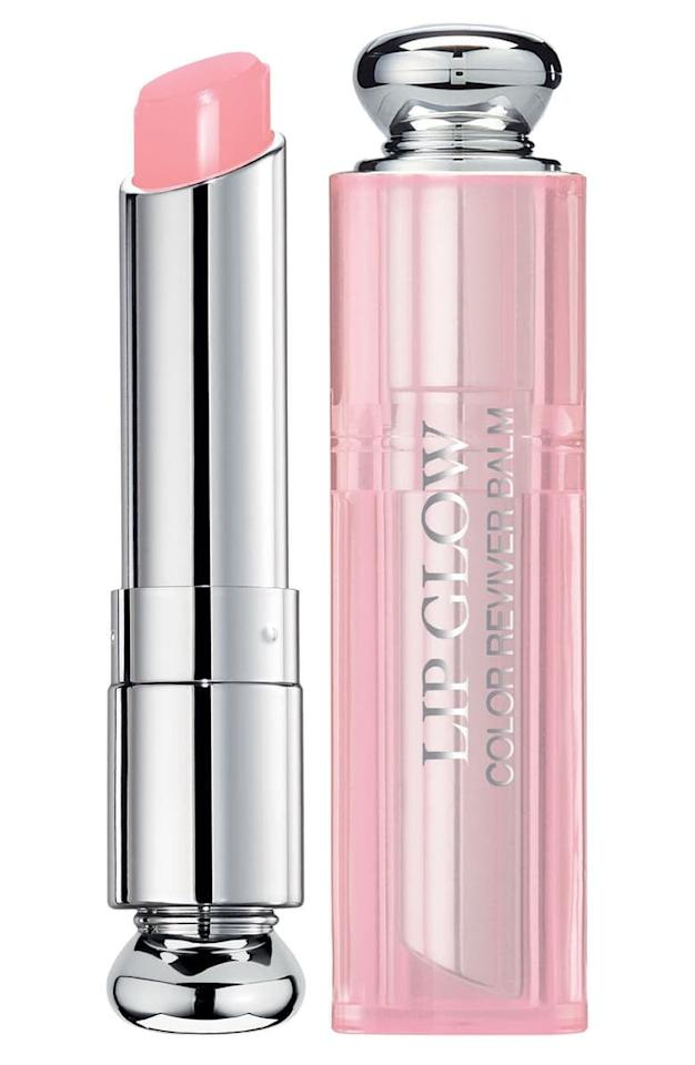 "<p>The <product href=""https://shop.nordstrom.com/s/dior-addict-lip-glow-color-reviving-lip-balm/3032812?origin=category-personalizedsort&amp;breadcrumb=Home%2FHome%20%26%20Gifts%2FGifts%2FGifts%20for%20Her&amp;color=011%20rose%20gold%20%2F%20glow"" target=""_blank"" class=""ga-track"" data-ga-category=""internal click"" data-ga-label=""https://shop.nordstrom.com/s/dior-addict-lip-glow-color-reviving-lip-balm/3032812?origin=category-personalizedsort&amp;breadcrumb=Home%2FHome%20%26%20Gifts%2FGifts%2FGifts%20for%20Her&amp;color=011%20rose%20gold%20%2F%20glow"" data-ga-action=""body text link"">Dior Addict Lip Glow Color Reviving Lip Balm</product> ($34) transforms color based on your pH, so everyone will have something totally unique.</p>"