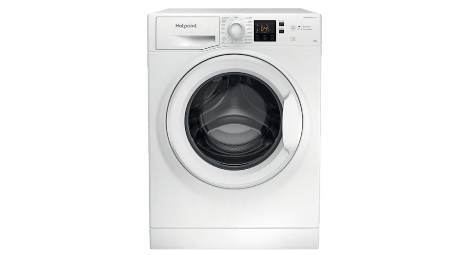 HOTPOINT Core NSWR 843C WK UK 8 kg 1400 Spin Washing Machine